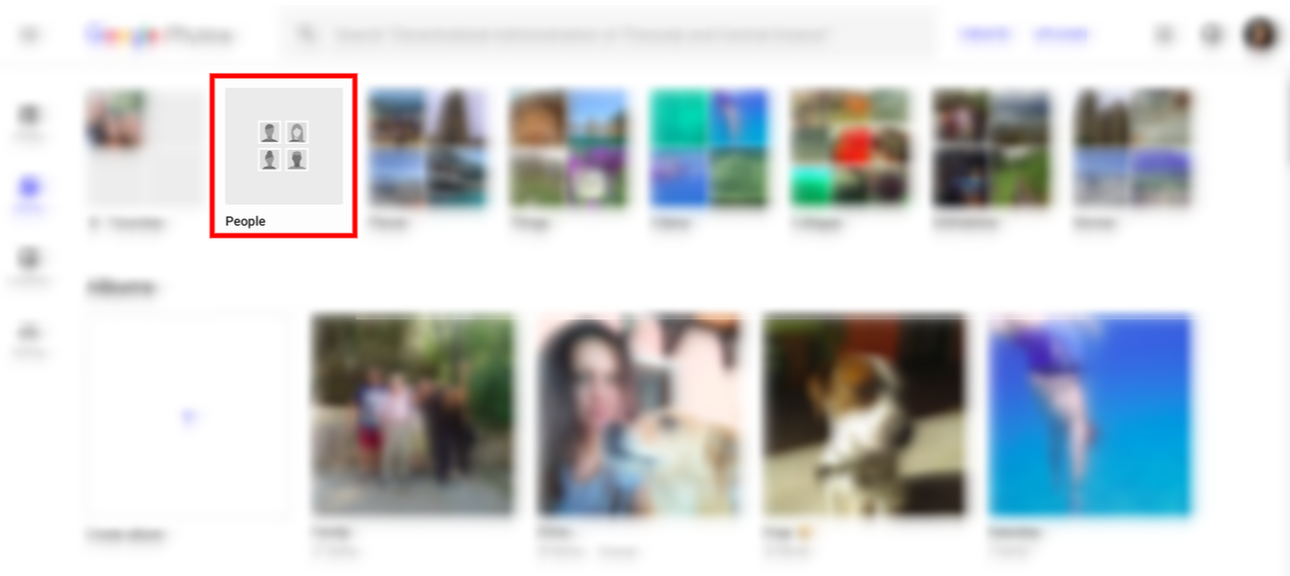 How to activate face recognition in google photos if you are